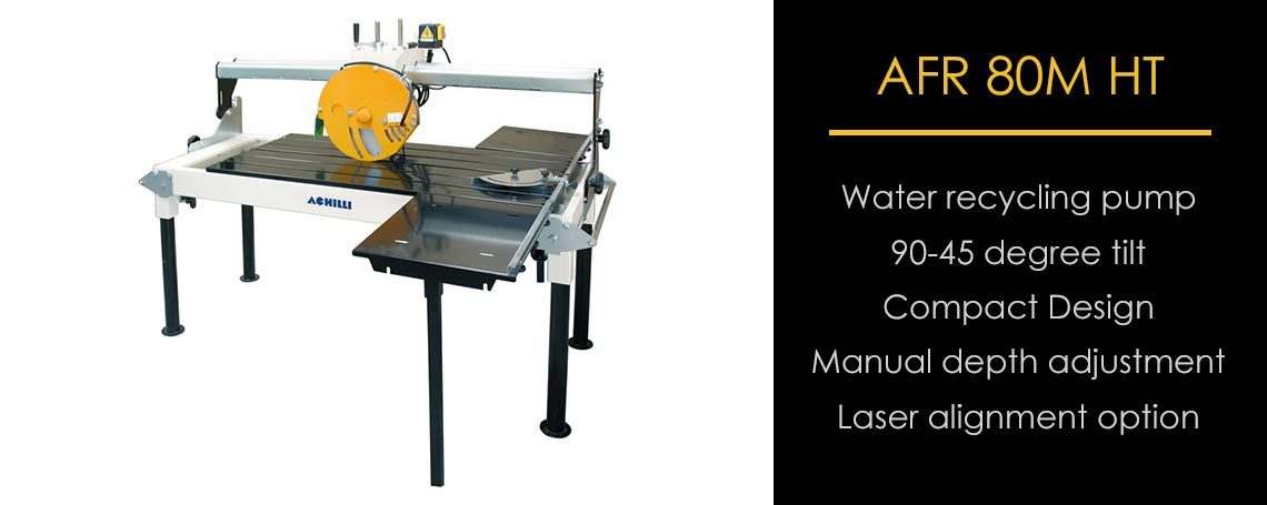 AFR 80M HT Compact Stone Saw