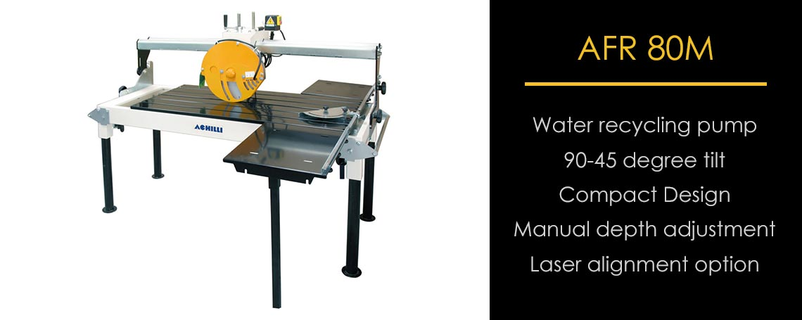 AFR 80M Compact Stone Saw