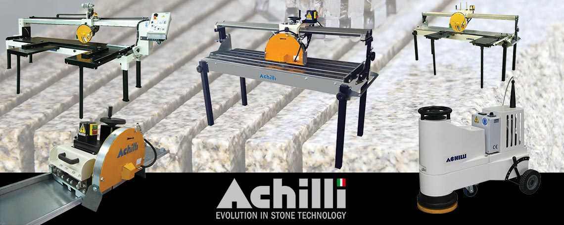 Achilli Machines for Stone Professionals