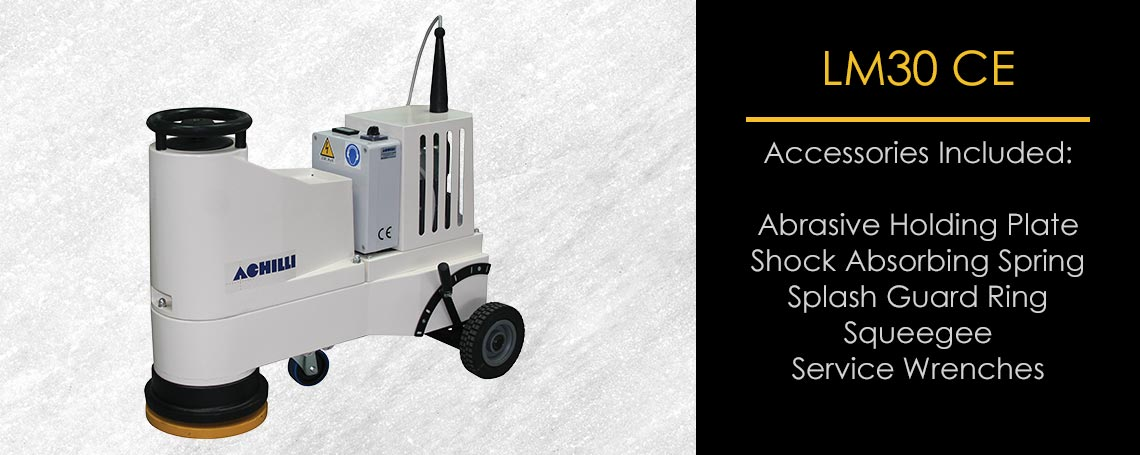 Floor Polishing Machine Grinder For Stone Professionals