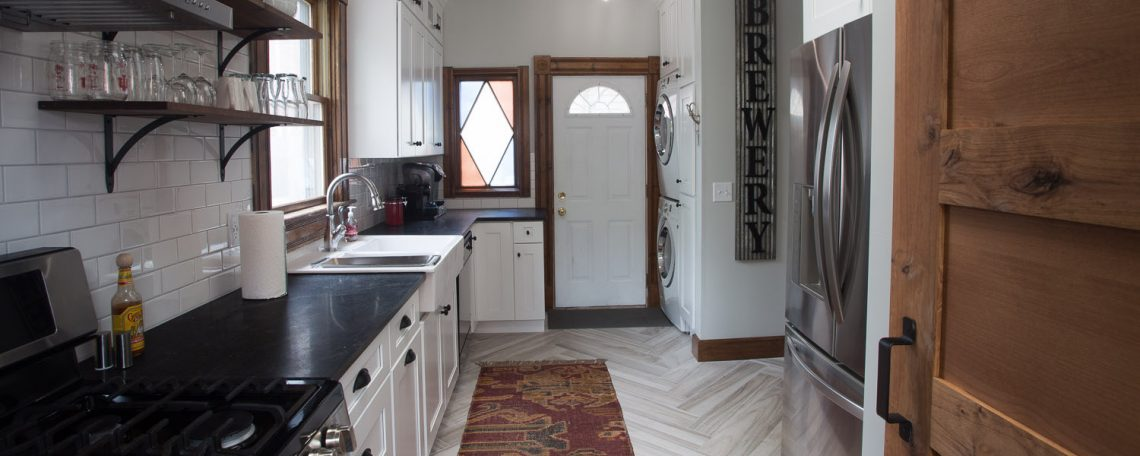 Herringbone Tile Flooring